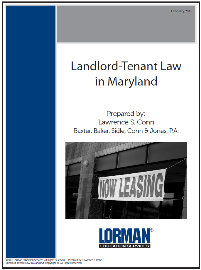 Landlord-Tenant Law in Maryland