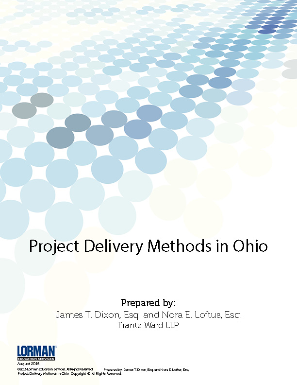 Project Delivery Methods in Ohio