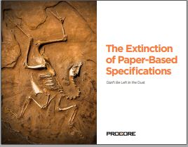 The Extinction of Paper Based Specifications